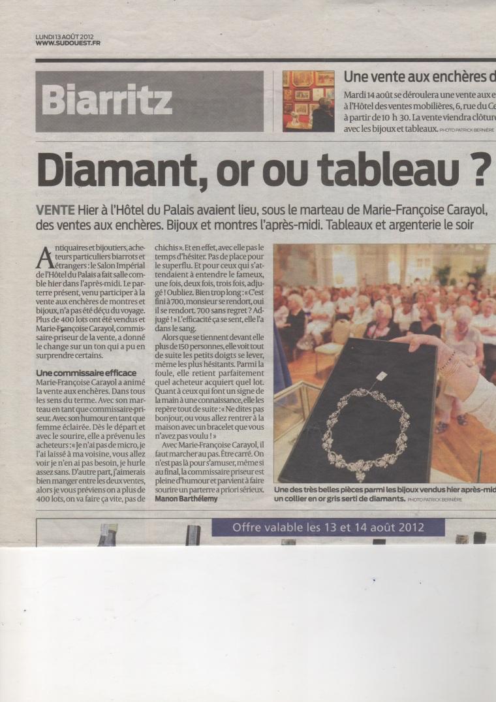 SudOuest 13 Aout 2012