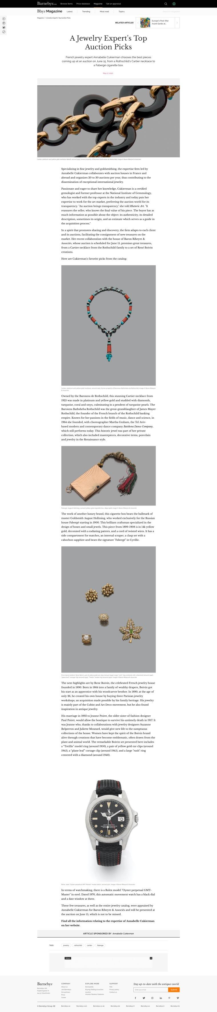 A Jewelry Expert's Top Auction Picks _ Barnebys Magazine