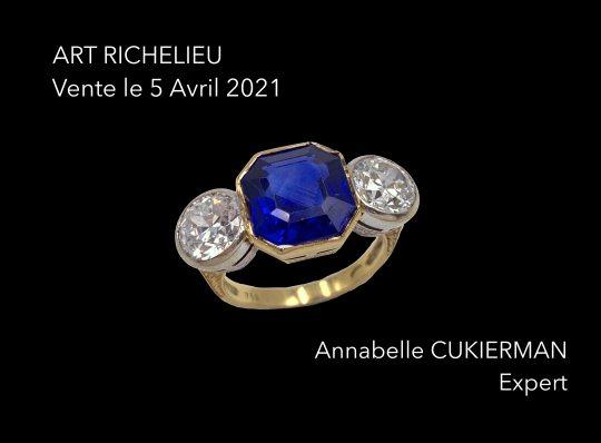auction house art richelieu expert cukierman