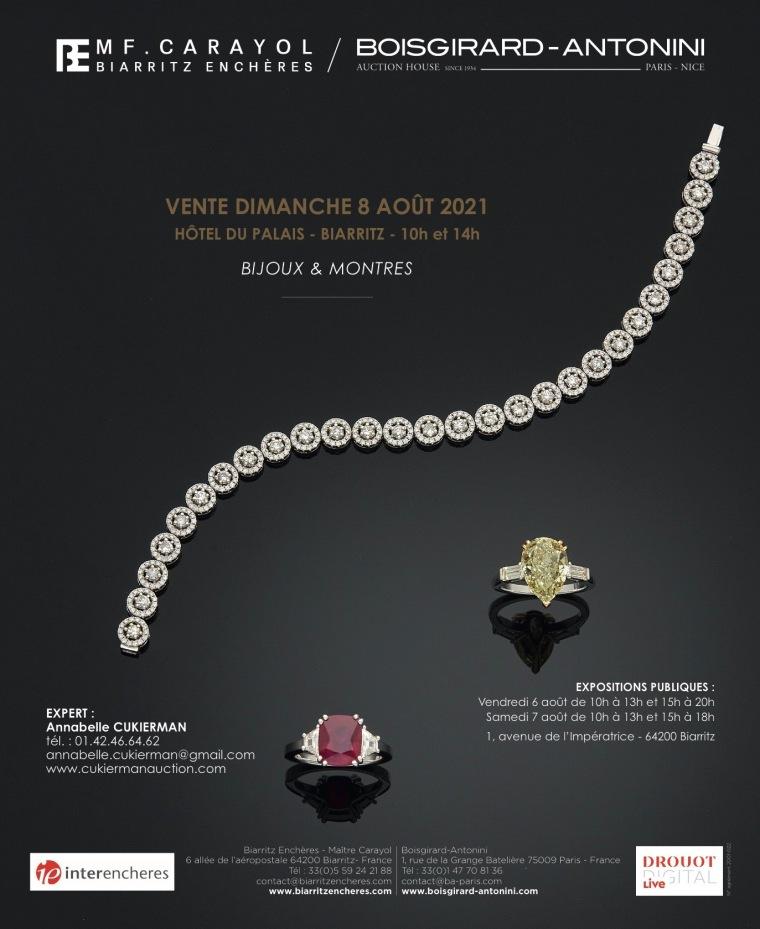 biarritz vente bijoux expert cukierman
