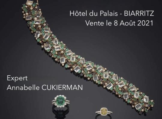vente bijoux biarritz 2021 expert cukierman